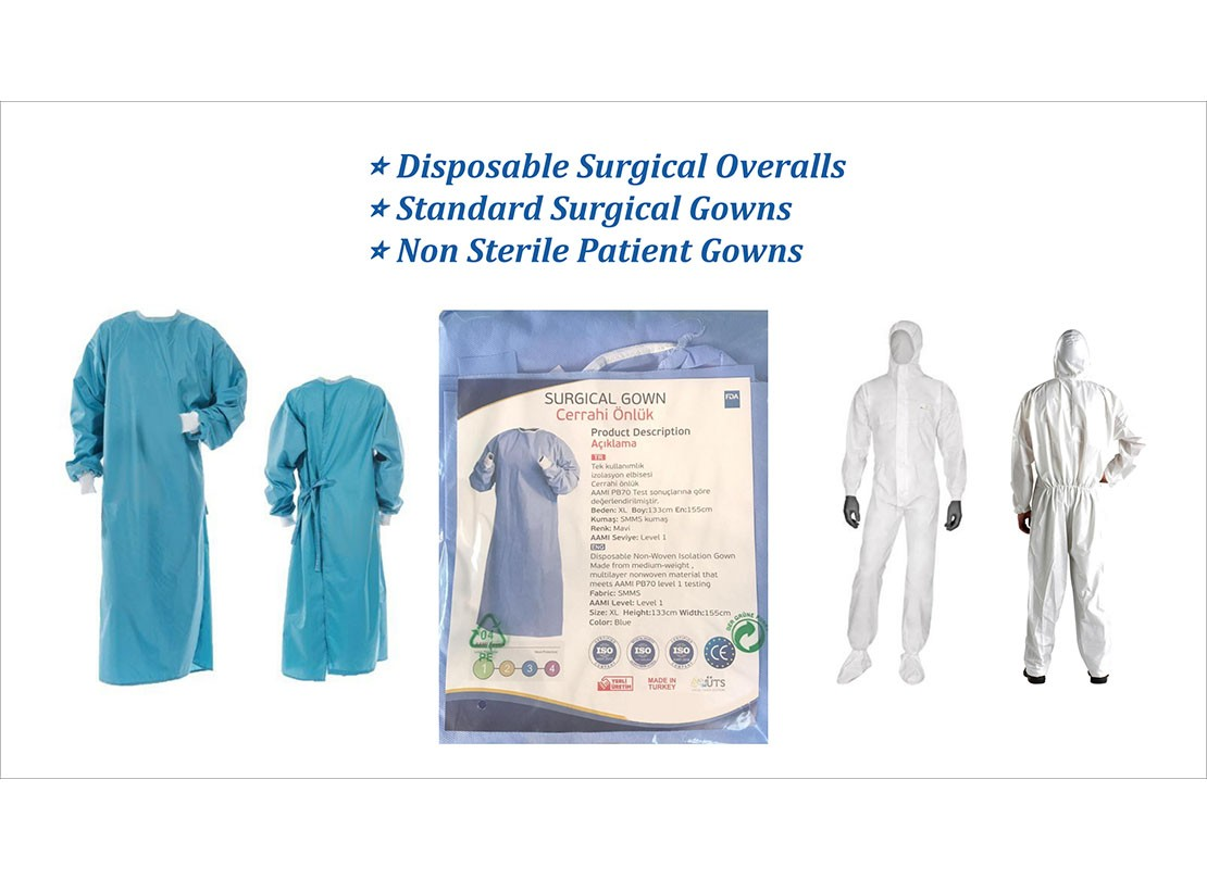 Disposable Surgical Overalls and Gowns